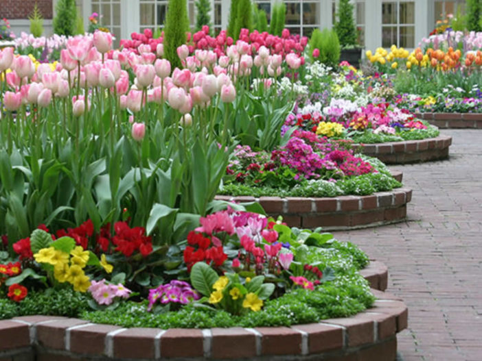 How To Build A Flower Bed World Of Flowering Plants