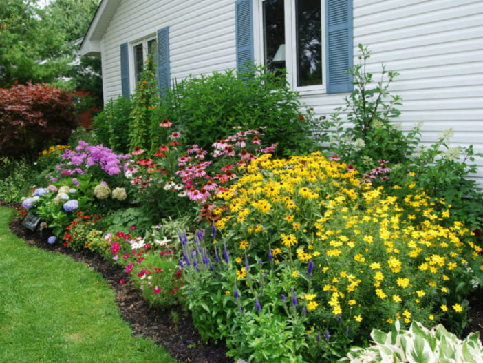 12 Tips For Successful Flower Garden Design World Of Flowering